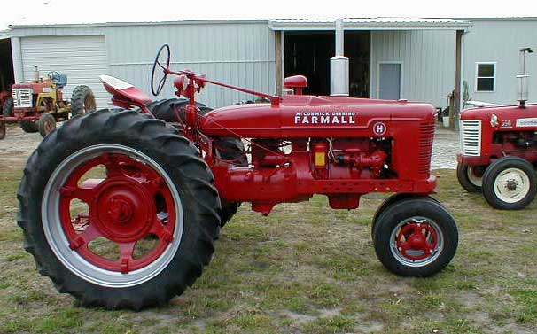 Farmall H Battery : Farmall restored h