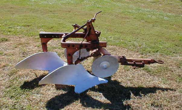 Allis Chalmers D14 Tractor With Ac Post Digger Snap Coupler Plow For Sale