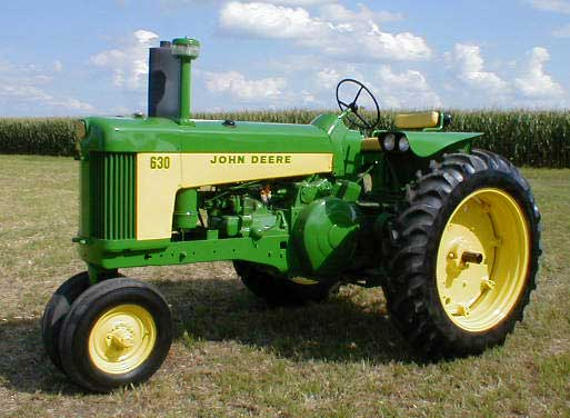 John Deere Side By Side >> John Deere model 630 Tractor for sale