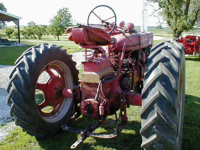 Farmall Super Md Ta Tractor All Original For Sale