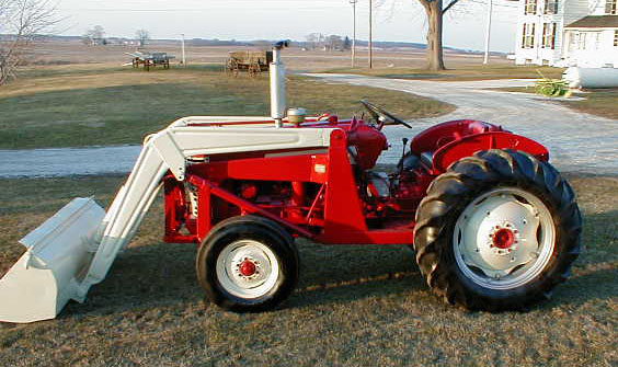 1957 Rarmall Ih 330 Utility Tractor With Loader For Sale