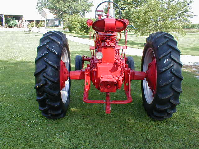 What Is Transmission >> 1954 Farmall Super MTA diesel tractor with wide front for ...