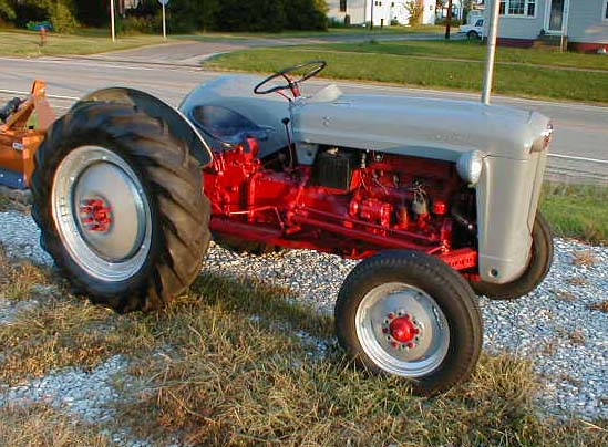 1953 ford golden jubilee tractor for sale