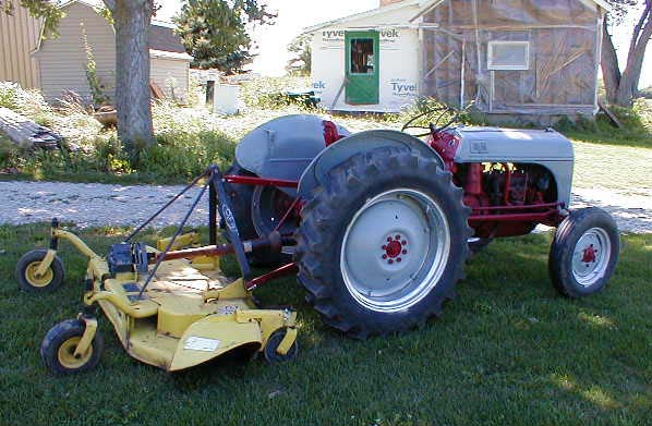 Ford 8n Tire : Ford n tractor for sale