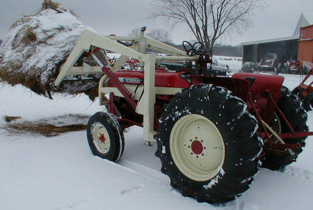 1969 Ih International Harvester 444 Utility Tractor With