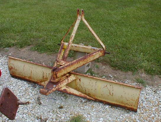 3 point 6 foot Ford tractor rear Scrape blade for sale