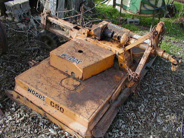 Woods Hd C80 Mower For Sale