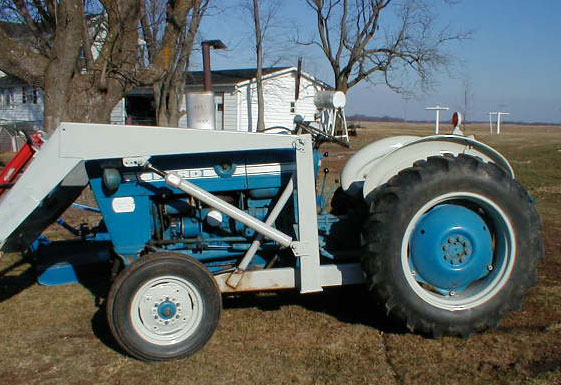 Ford 200 Tractor With Loader For Sale