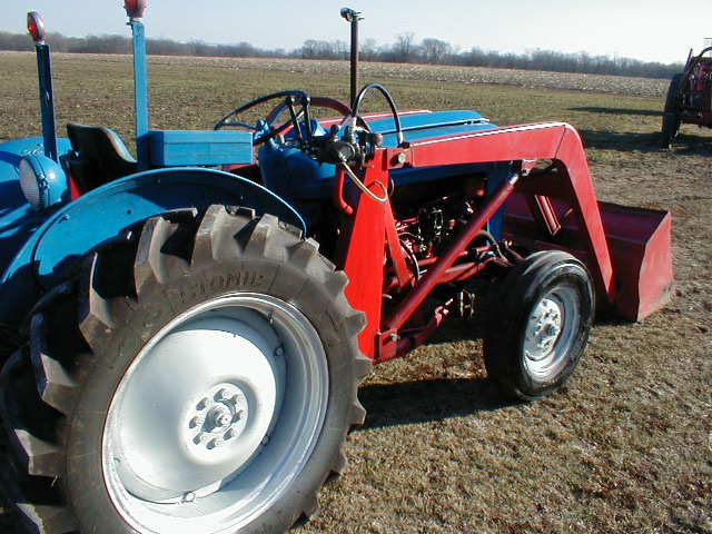 Ford Jubilee Tractor With Loader For Sale