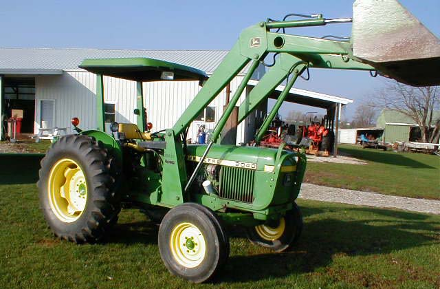 John Deere Model 2040 Doesel Tractor With Loader For Sale