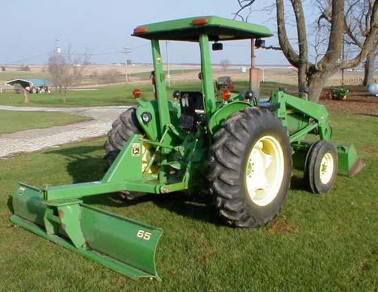 John Deere Model 2040 Doesel Tractor With Loader For Sale