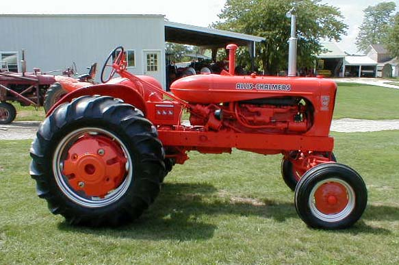 Allis Chalmers Wd45 : Restored allis chalmers ac wd diesel tractor for sale
