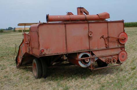 Pulling Tractors For Sale >> AC Allis Chalmers #60 All Crop Pull Combine for Sale