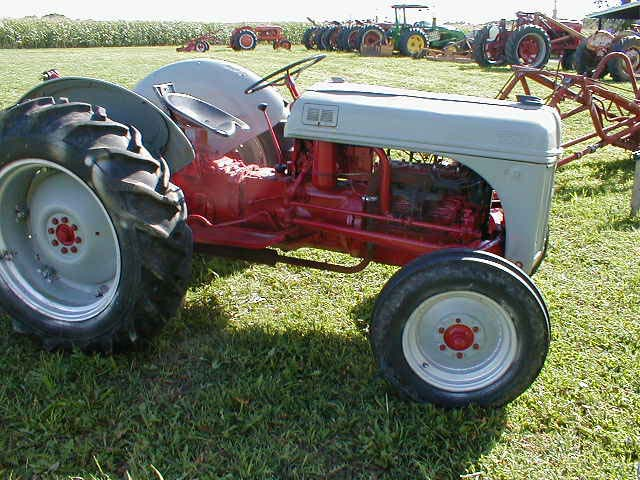 Restored 1952 ford 8n tractor for sale for 8n ford tractor motor for sale