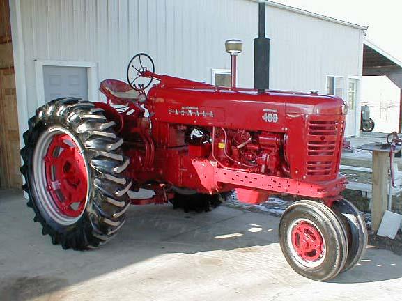 Farmall 400 Tractor : Restored farmall diesel tractor for sale