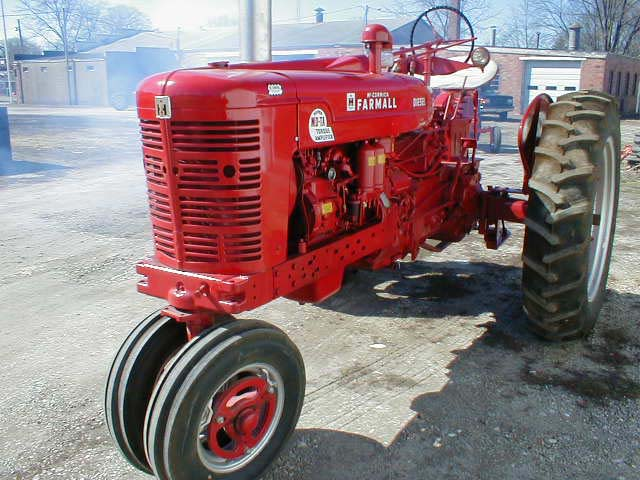 restored farmal super mta super m super h farmall tractors tractor  1954 diesel smta this one is a nice missouri tractor that has been well cared for and runs very nice this tractor has new tires and great tin