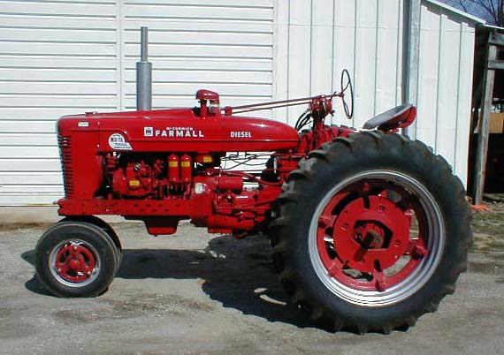 Bill Of Sale Kansas >> Farmall Super MTA Diesel for sale MDTA