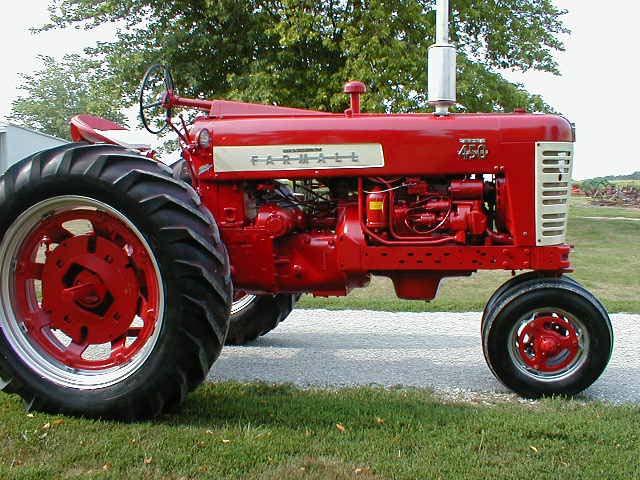 Restored Farmall 450 Tractor For Sale