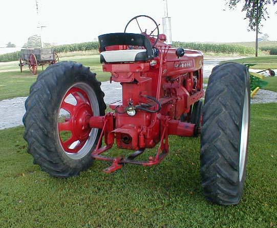 Restored 1955 Farmall 400 Tractor For Sale