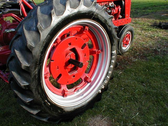 Restored Farmall M Gas Tractor For Sale
