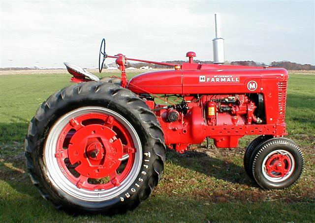 Farmall M Tractor Gauges : Restored farmall m gas tractor for sale