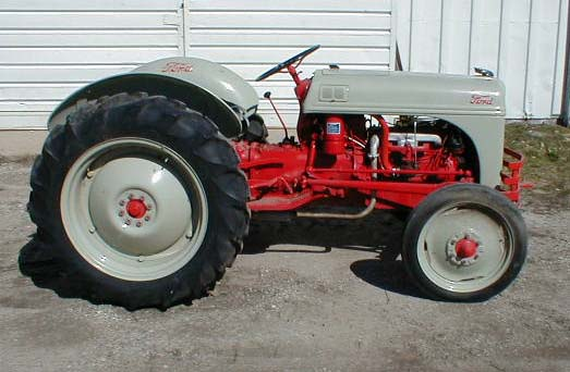 8n Ford Tractor Tool Box : Restored one owner ford n tractor for sale