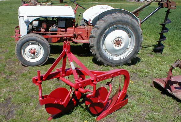 Ford N Leftside Plow