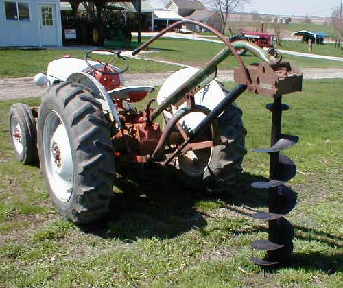 1951 Ford 8n Tractor With Implements For Sale
