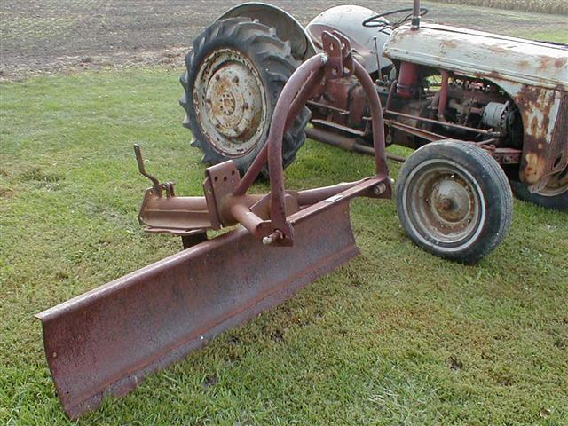 1947 Ford 2n Project Tractor With Loader Mower And Blade