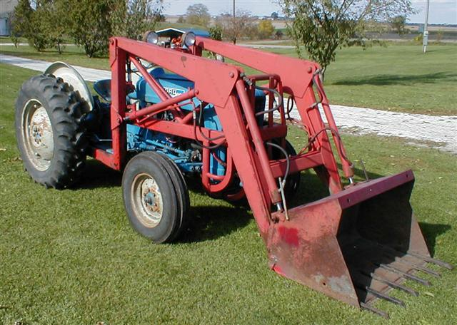 1963 Ford Tractor Model 2000 : Ford industrial tractor