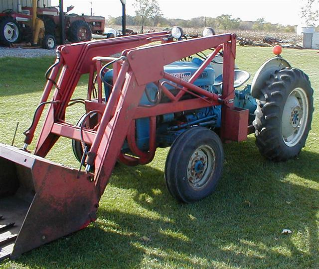 1963 Ford Tractor Model 2000 : Ford tractor for sale