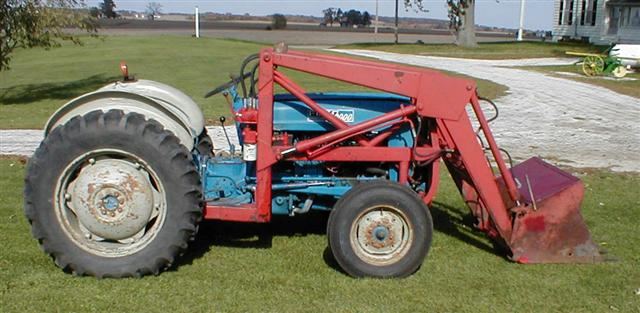 Ford Tractor Pto No 1962 : Ford tractor with loader for sale