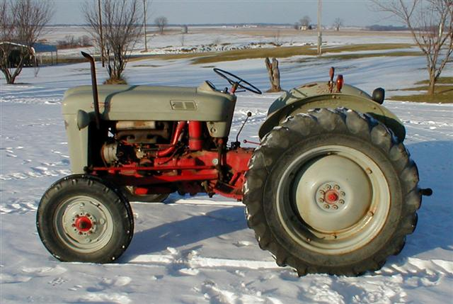 1953 Ford Jubilee Tractor For Sale