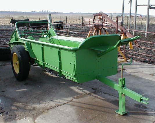John Deere Manure Spreader : John deere manure spreader for sale