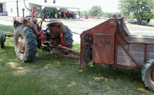 Used Tractors For Sale >> Allis Chalmers #110 manure spreader for sale