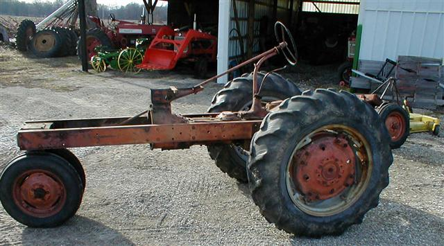 Allis Chalmers AC WD45 Parts Tractor for sale