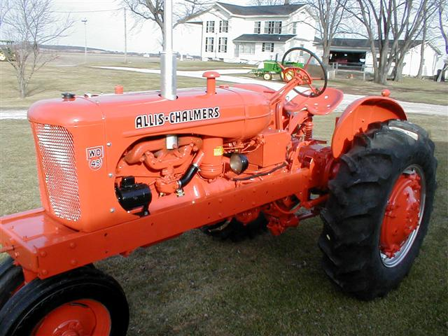 Allis Chalmers Wd45 : Allis chalmers ac wd restored tractor for sale