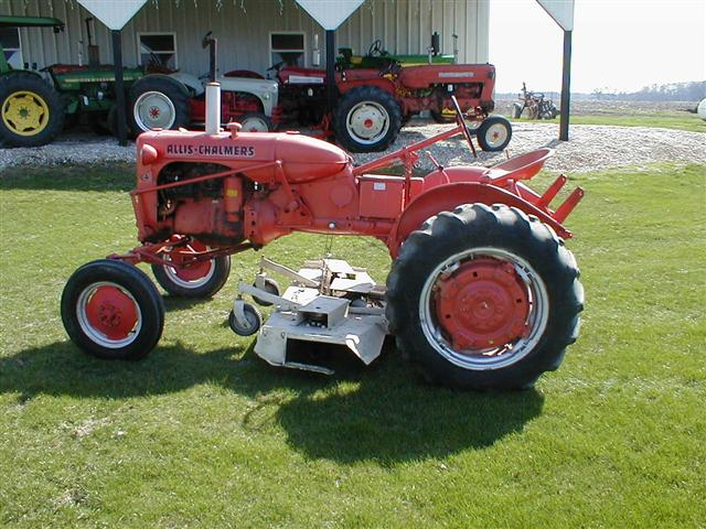 allis chalmers mowers