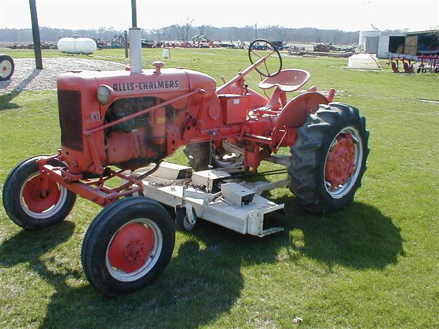 Ca Ac Allis Chalmers With Woods Belly Mower For Sale