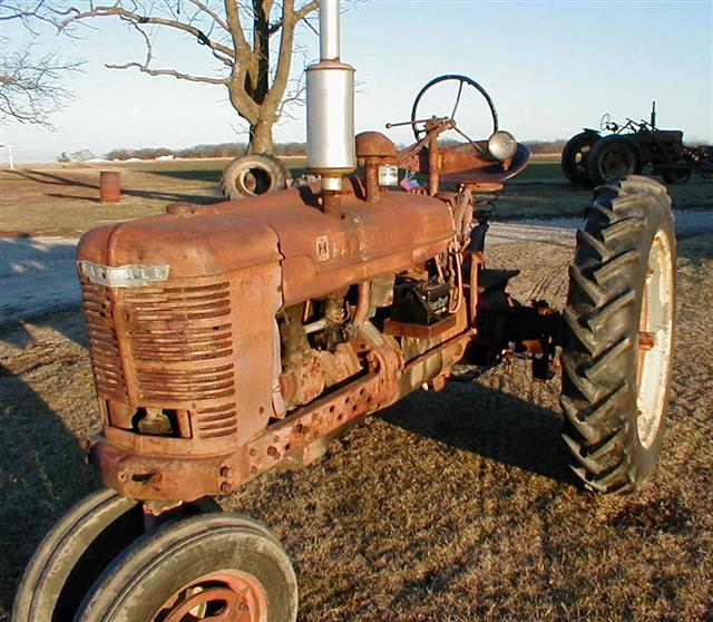 farmall h tractor firing order