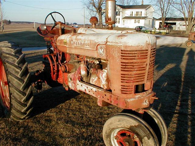 Side By Side For Sale >> Farmall M Tractor for sale