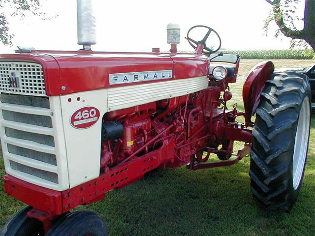 Farmall 460 Brake Diagram : Restored farmall diesel for sale