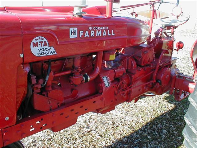 International Farmall Super Mta Tractor For Sale