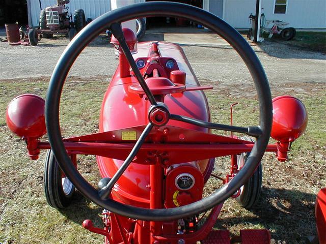 Farmall M Hood : Restored farmall m tractor for sale