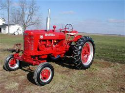 Restored-Farmall-M-Tractor from Chats Tractors