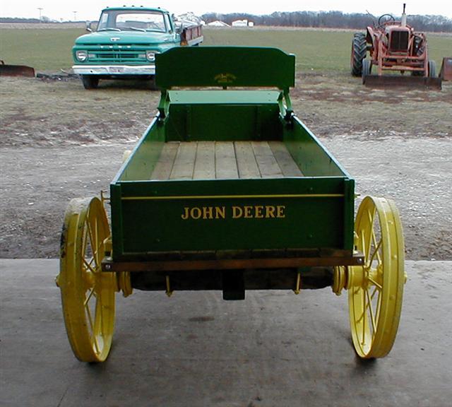 John Deere Steel Wheels : Restored john deere wooden wagon on steel wheels for sale