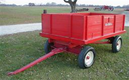 Antique John Deere Studebaker Ih Wooden Wheel Farm Wagons For Sale