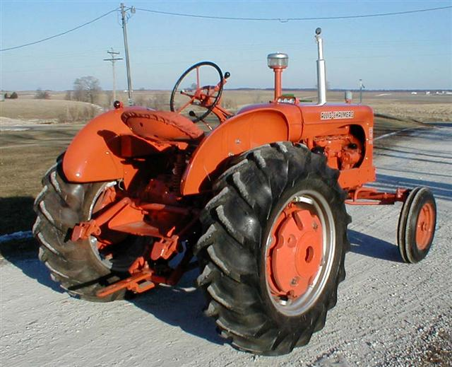 Allis Wd Diesel Right Rear on Allis Chalmers Rear Engine Tractor