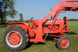 Chats Tractors Allis Chalmers wd45 Tractors for sale