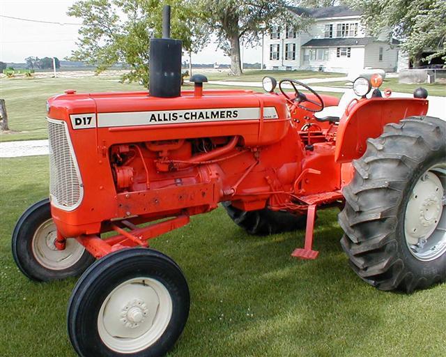 Allis Chalmers  D17  Steiner Tractor Parts Inc